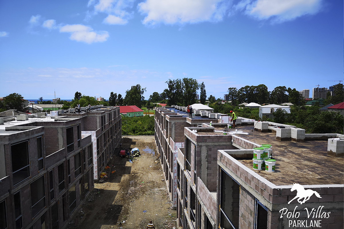 Batumi villas under construction