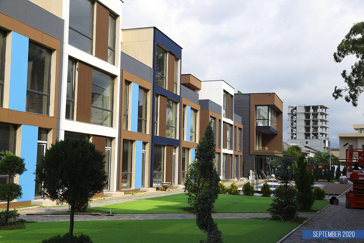 Dynamics of house construction Polo Villas Parklane