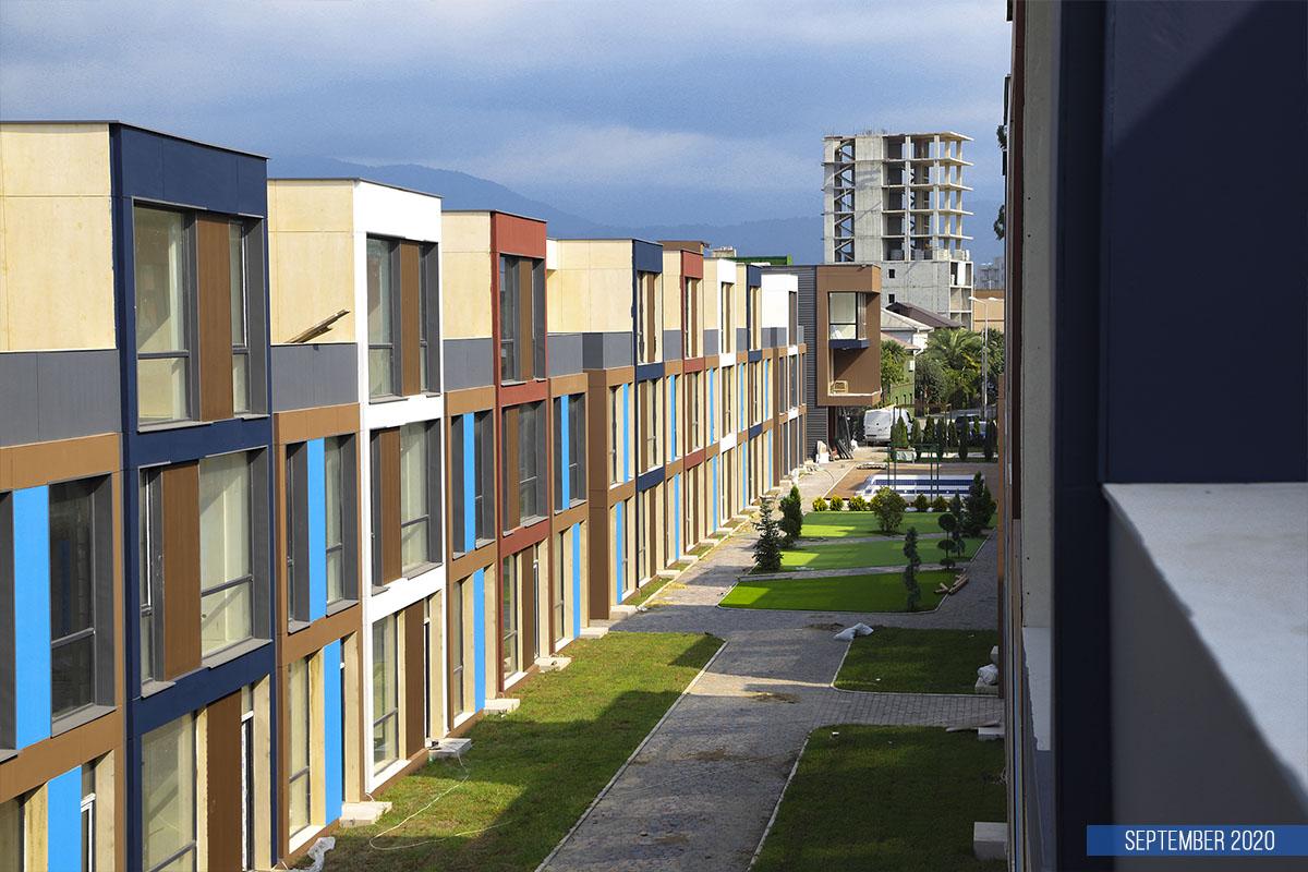 real estate in Batumi under construction