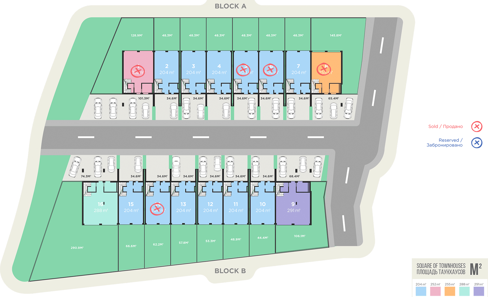 дома с участком Батуми планировка