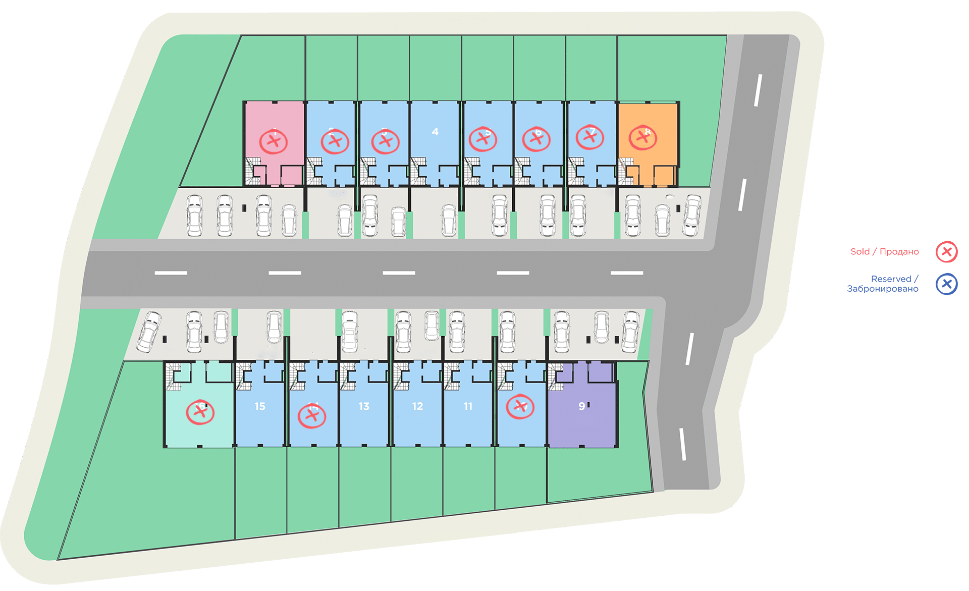 дома с участком Батуми планировка виллы
