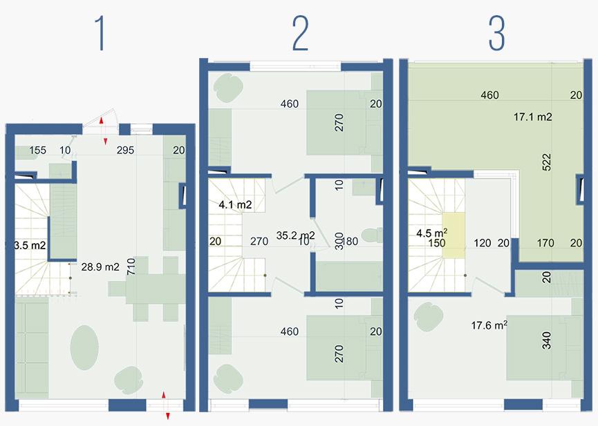 план этажа поло виллас парклэйн