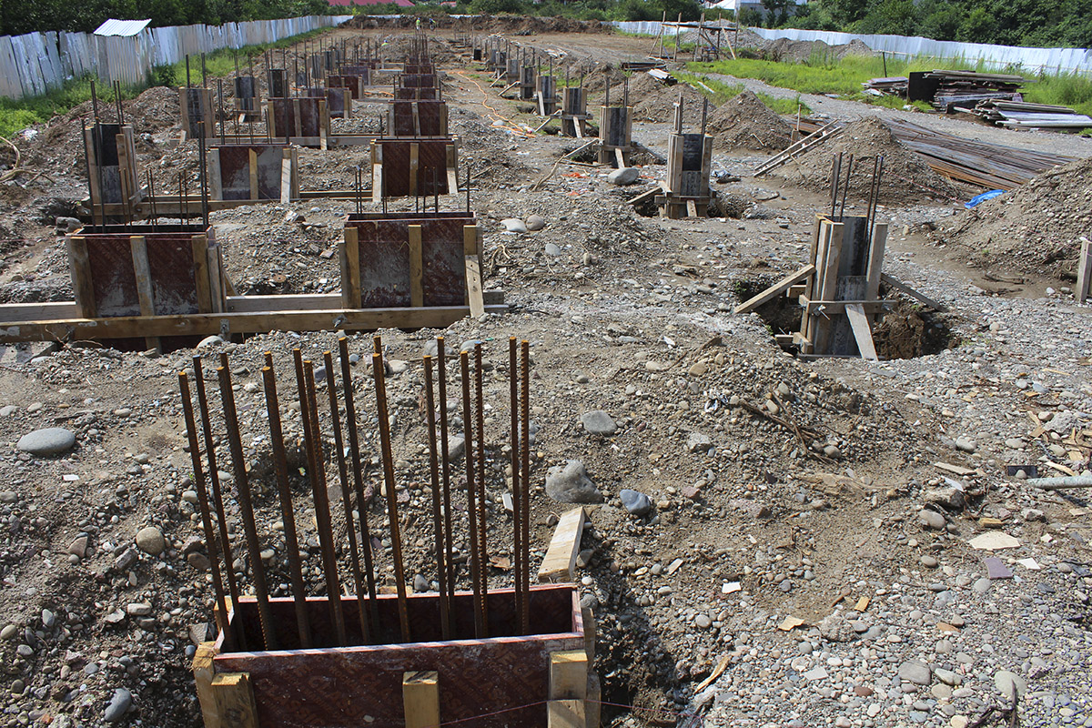 строительство Polo villas parklane грузия